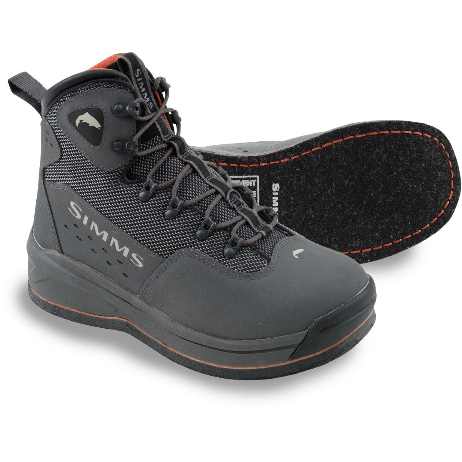 Simms Headwaters Boot Felt Coal