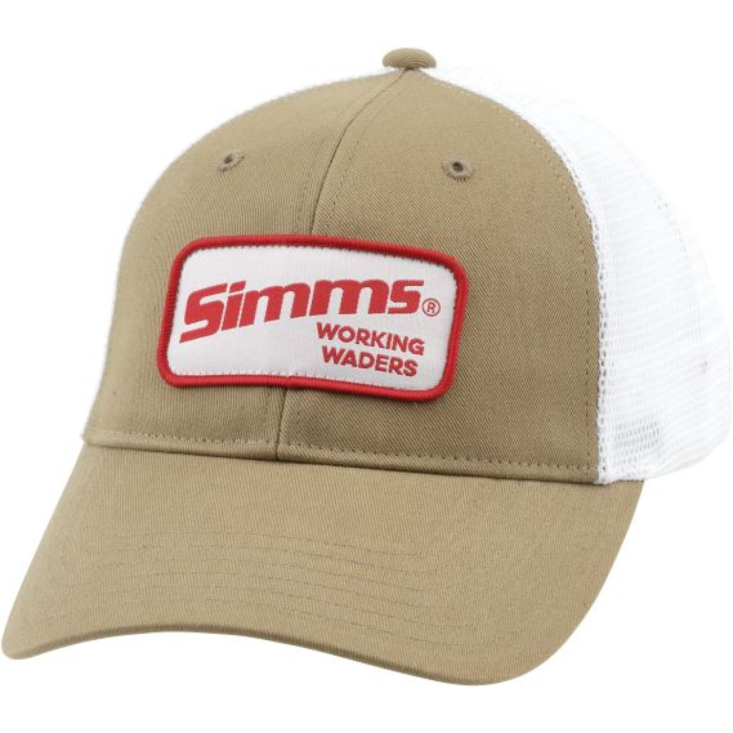 Simms Small Patch Trucker Wrkg Wdrs Coffee