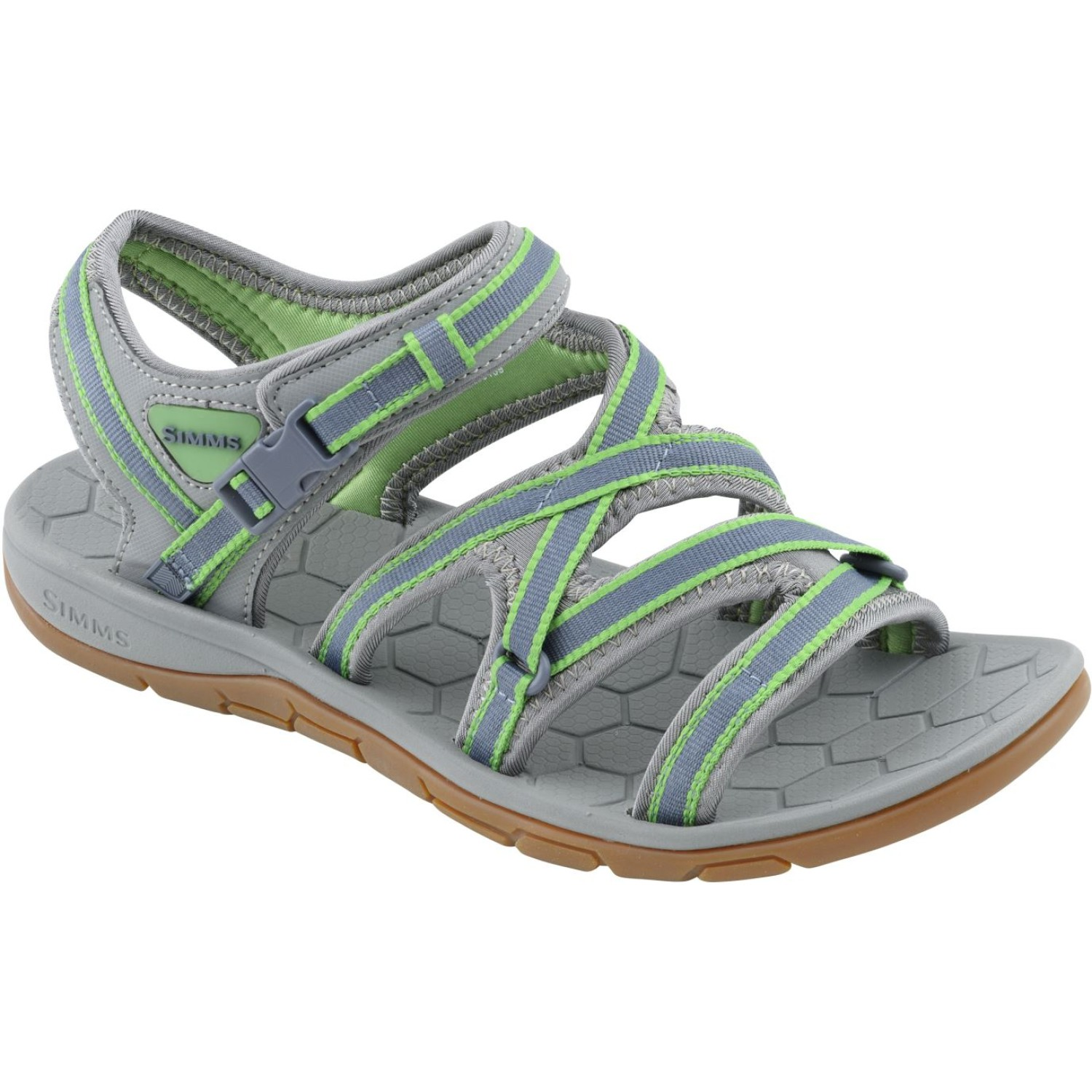 Simms Women's Clearwater Sandal Spring Green