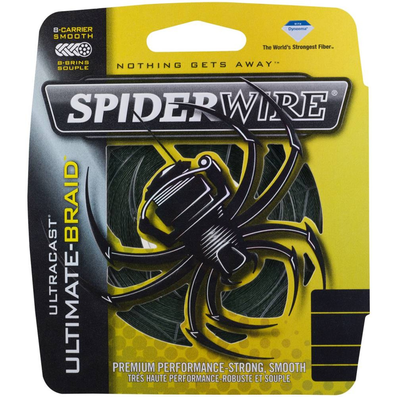 Spiderwire Ultracast 8 - Ultimate-Braid Green 110m