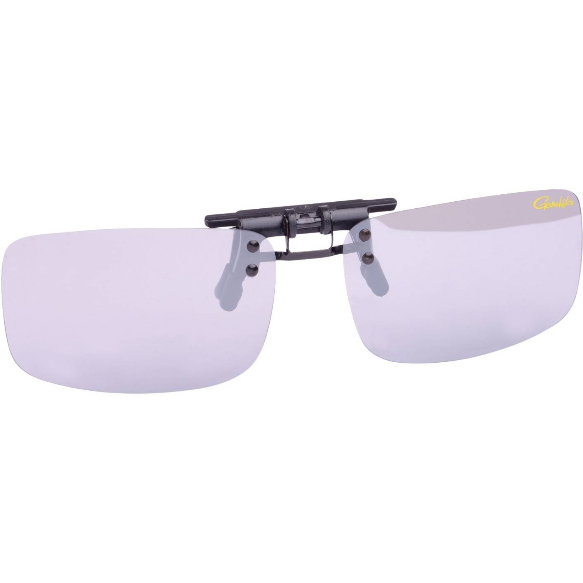 Gamakatsu G-Glasses Waver Polarisationsbrille Light Gray Mirror Deep Amber Bekleidung Angelsport