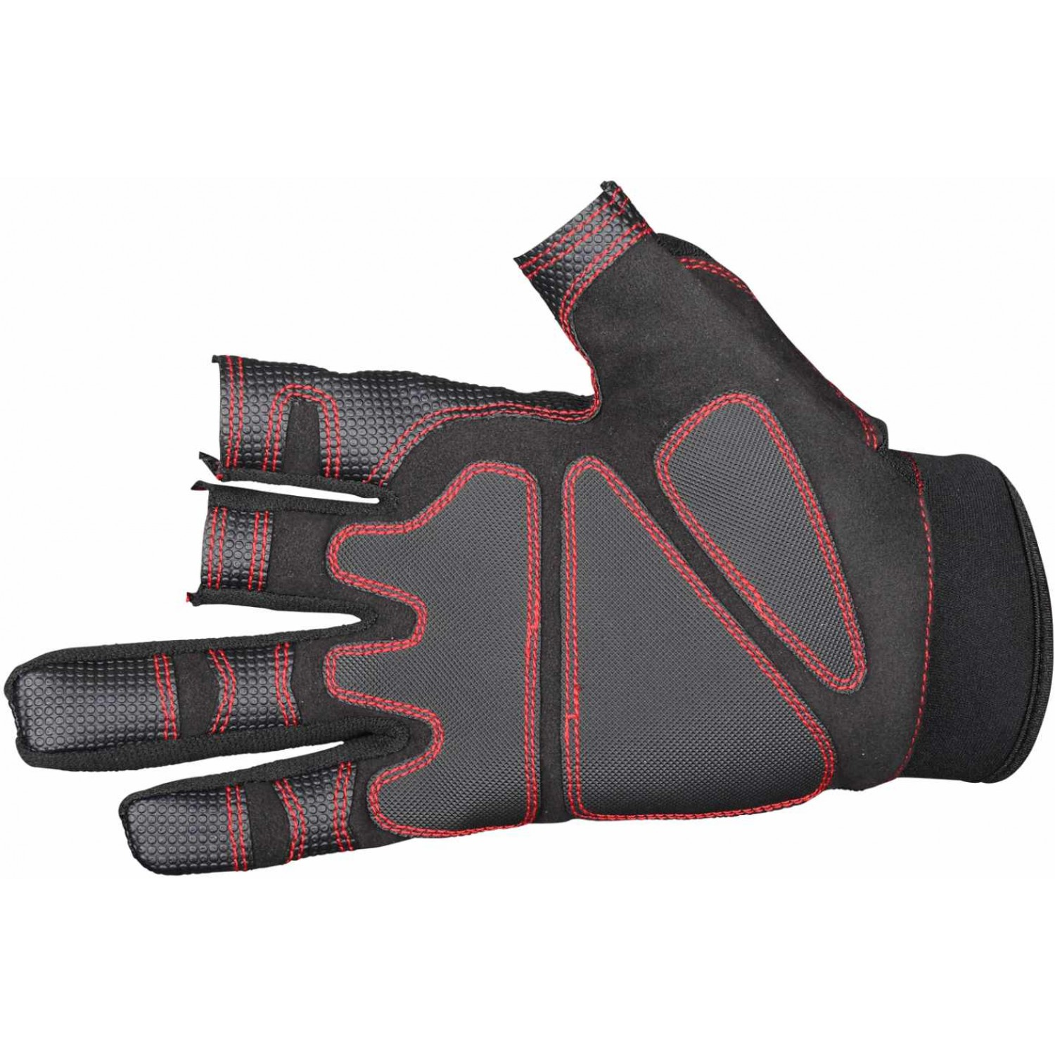 Gamakatsu Armor Gloves 3 Fing-Cut