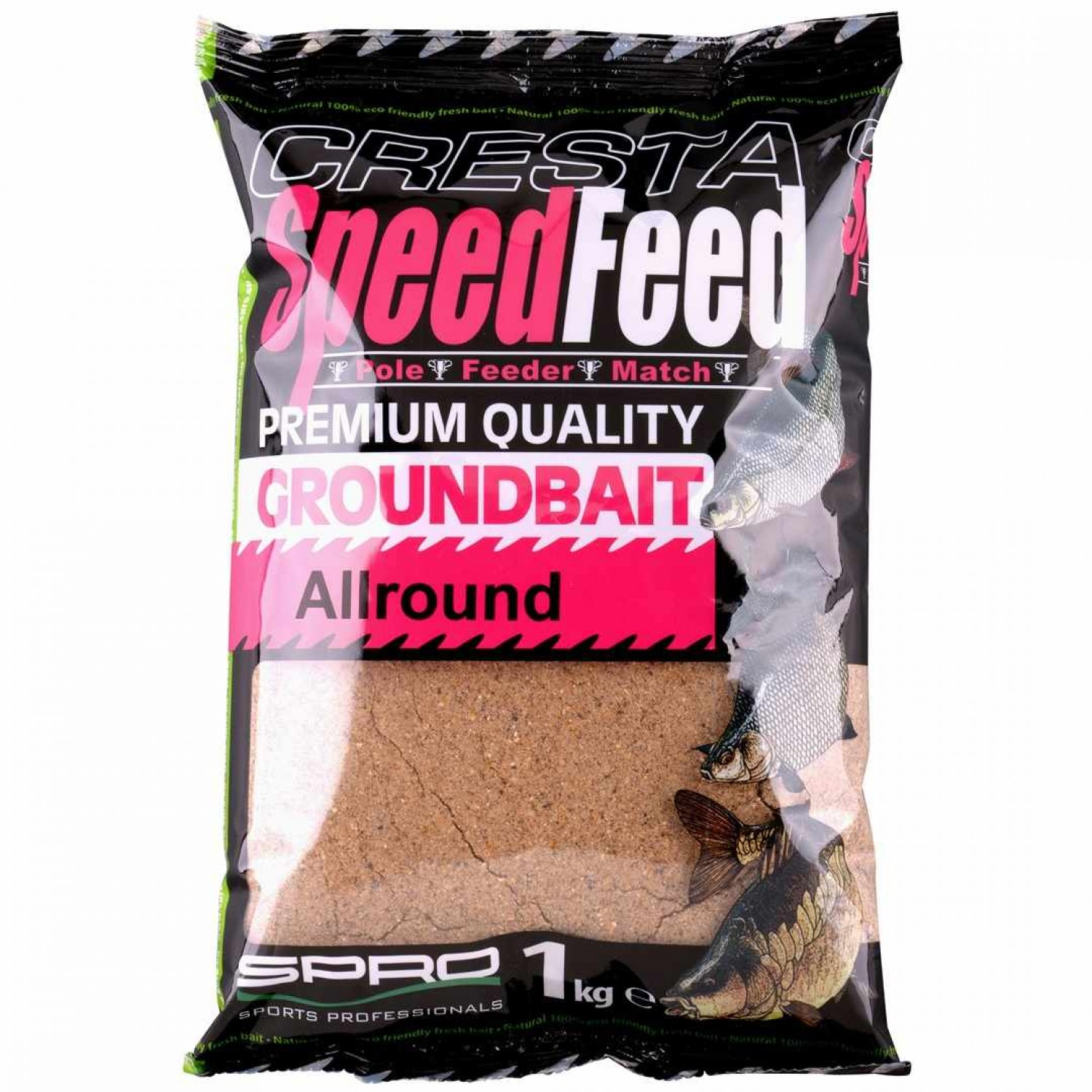 Spro Cresta Speedfeed Groundbait Allround 1kg