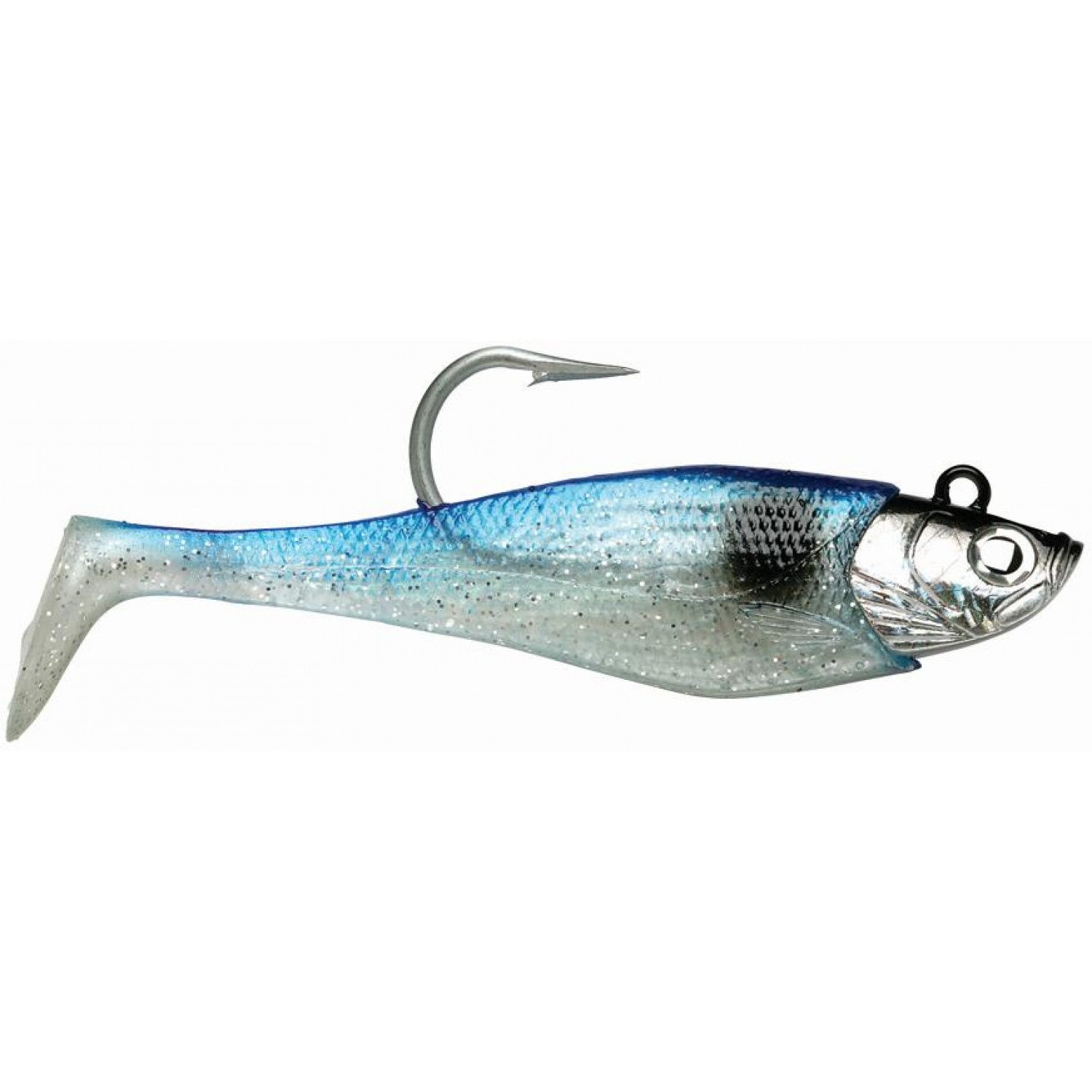 2 SOFT BODIES 1 HEAD Storm WildEye GIANT Jigging Shad Fishing Three Sizes