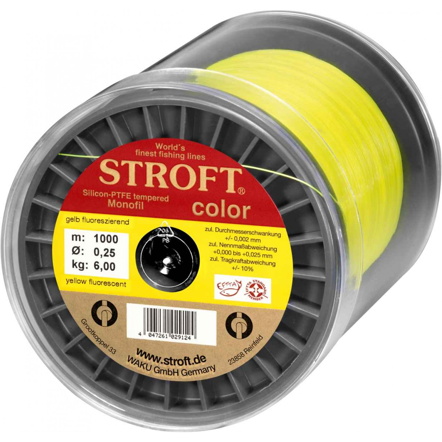 Stroft Color Fluo Yellow 1000m