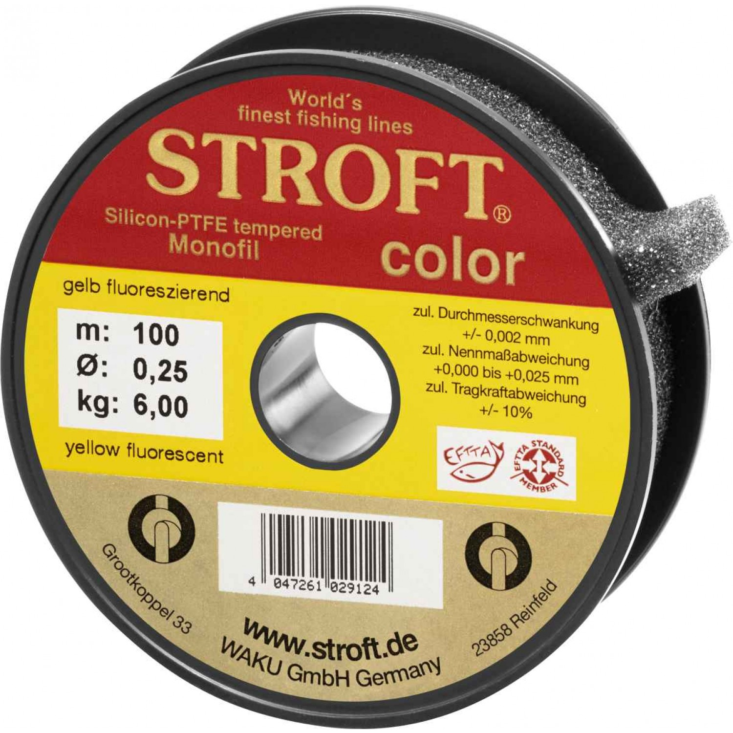 Stroft Color Fluo Yellow 100m