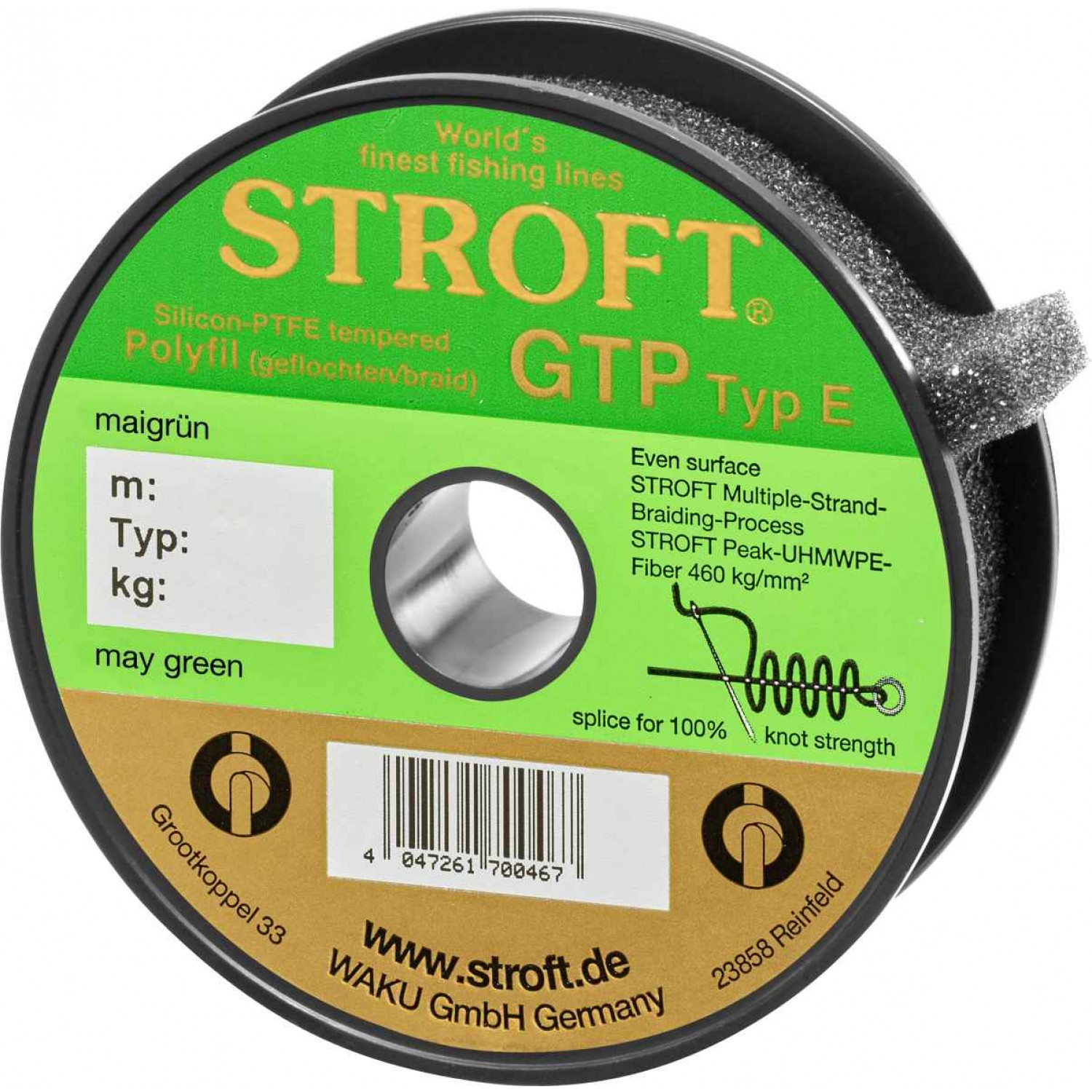 Stroft GTP May Green 150m Typ E