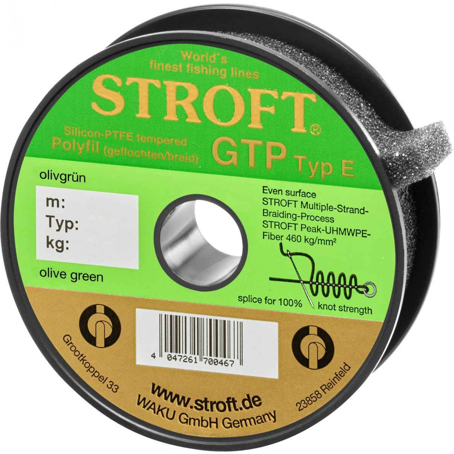 Stroft GTP Olive Green 150m Typ E