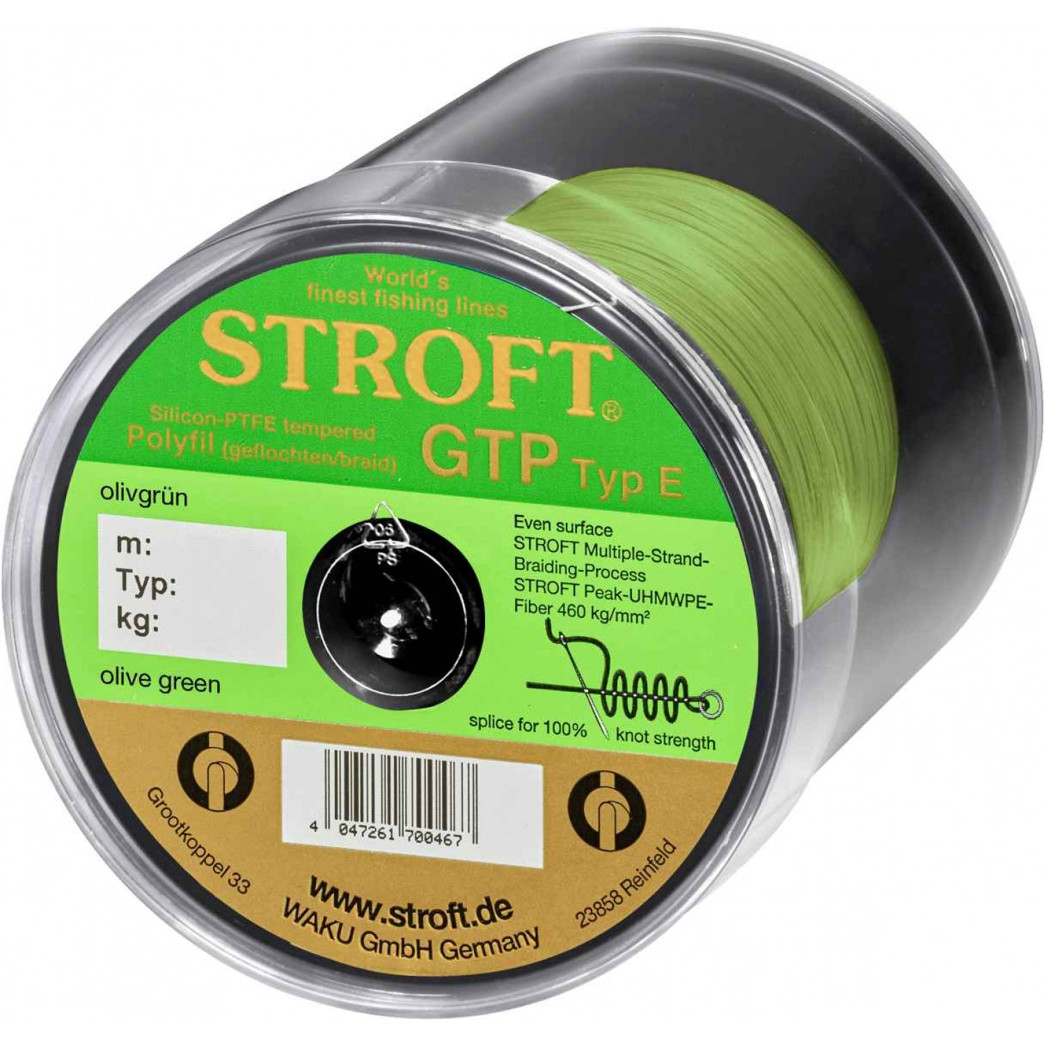 Stroft GTP Olive Green 500m Typ E