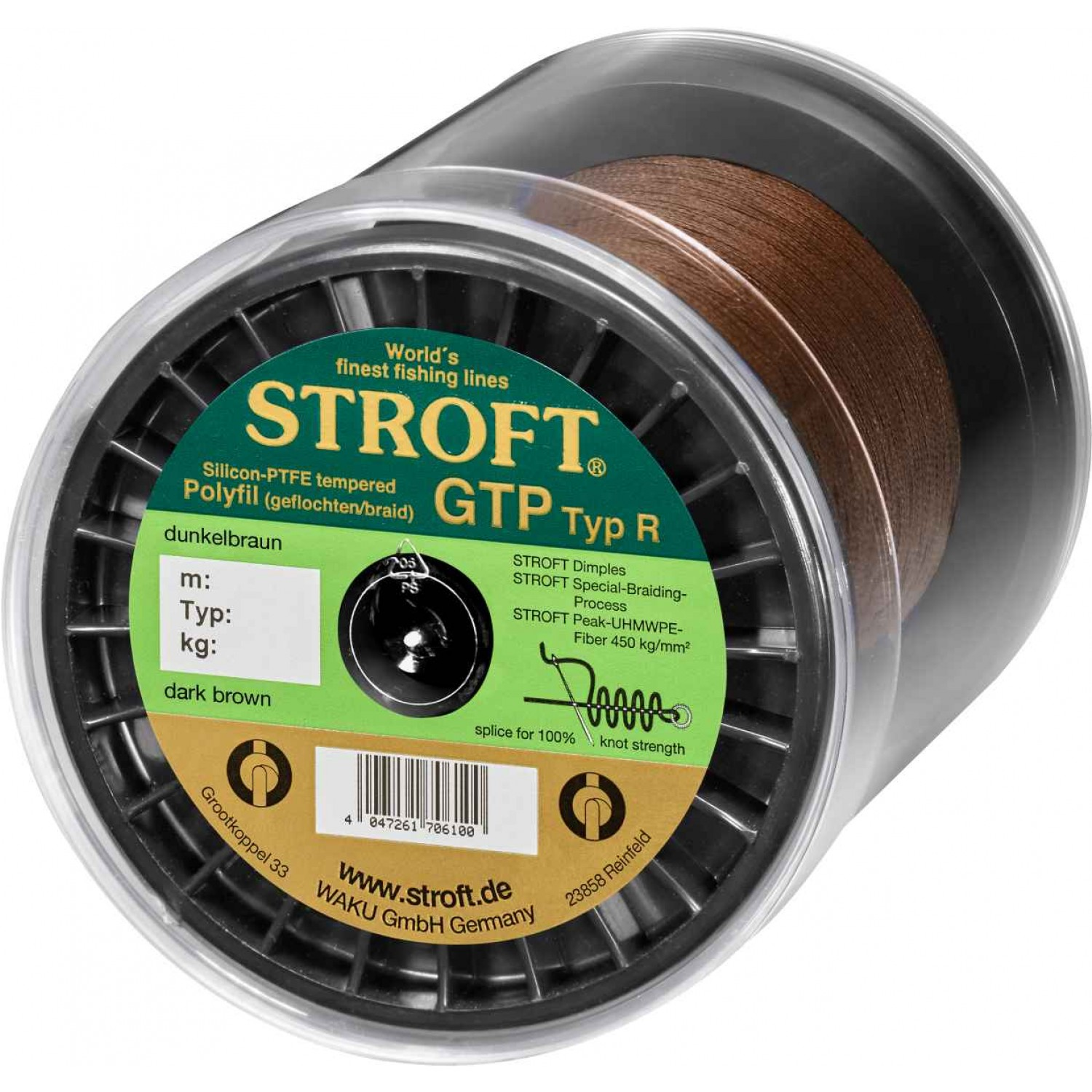 Stroft GTP Dark Brown 2000m Typ R