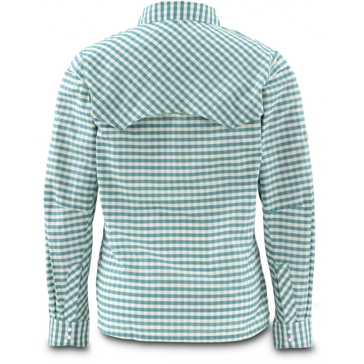 Simms Women's Big Sky Shirt Ink Plaid