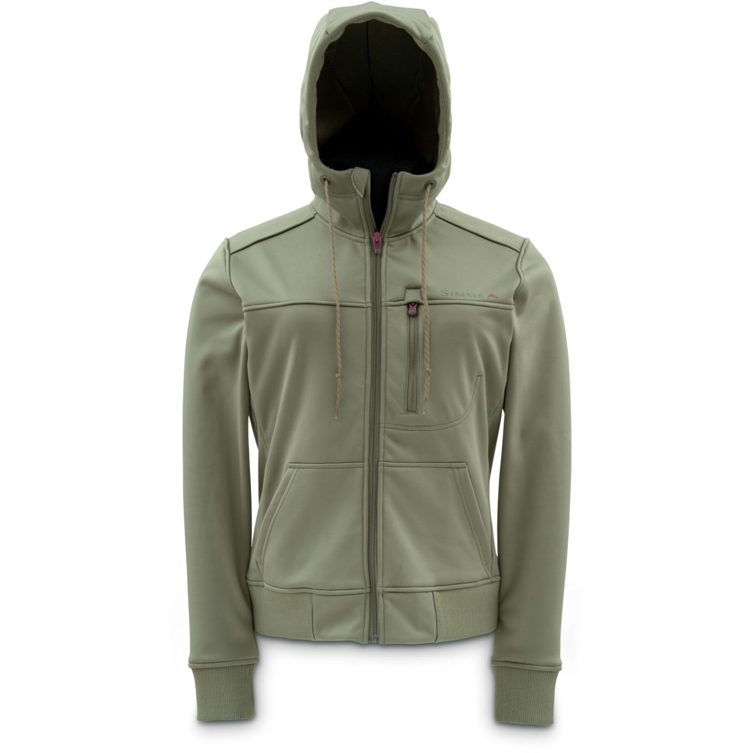 Simms Women's Rogue Fleece Hoody Olive