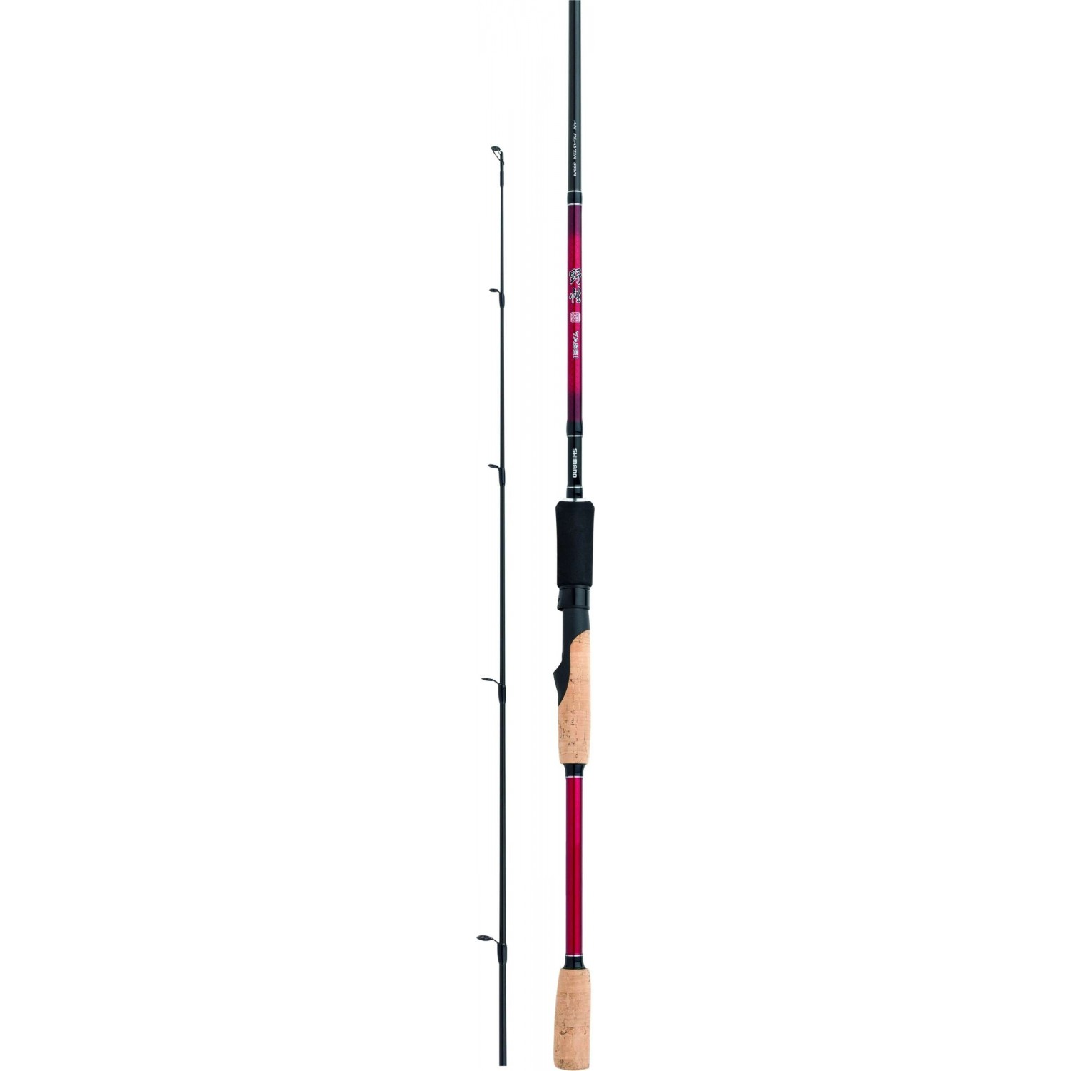 SHIMANO Yasei Red AX Player Spin 1.98m
